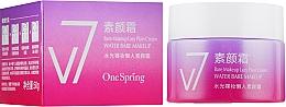 Духи, Парфюмерия, косметика Осветляющий крем для лица - Bioaqua V7 Water Bare Make Up