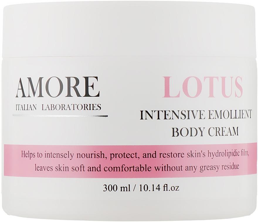 Концентрированный смягчающий крем для тела с лотосом для огрубевшей кожи - Amore Lotus Intensive Emollient Body Cream