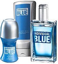 Духи, Парфюмерия, косметика Avon Individual Blue For Him - Набор (edt/100 ml + gel/shp/250 ml + deo/50 ml)