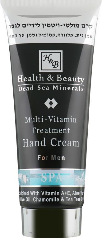 Лечебный мультивитаминный крем для рук - Health And Beauty Multi-Vitamin Treatment Hand Cream For Men
