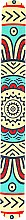 """Духи, Парфюмерия, косметика Пилка для ногтей """"Этно"""", 77012, светло-желтая - Top Choice"""