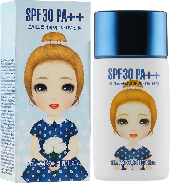 Аква-гель для кожи с UV защитой - The Orchid Skin Orchid Flower Aqua Uv Sun Gel SPF 30
