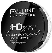 Духи, Парфюмерия, косметика Рассыпчатая пудра для лица - Eveline Cosmetics Full HD Soft Focus Transparent Loose Powder
