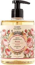 """Духи, Парфюмерия, косметика Марсельское жидкое мыло """"Роза"""" - Panier des Sens Rose Liquid Marseille Soap"""