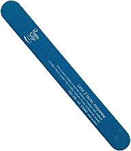 Духи, Парфюмерия, косметика Пилка для ногтей двухсторонняя 240/240, голубая - Peggy Sage 2-way Washable Medium Nail File