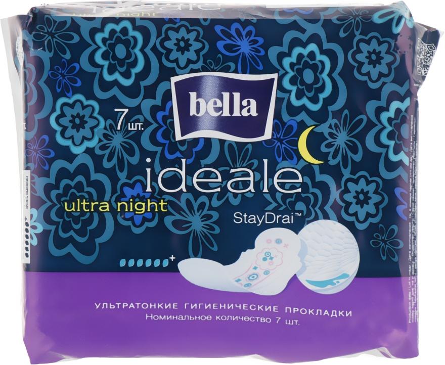 Прокладки Ideale Ultra Night, 7 шт - Bella