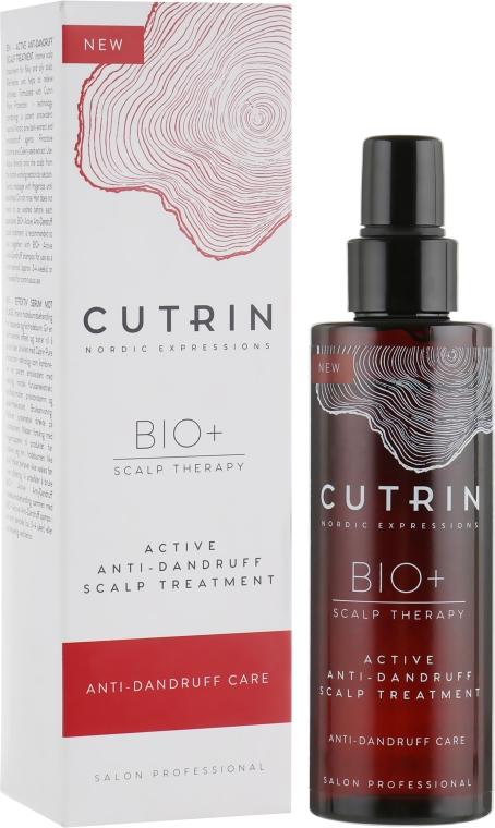 Крем от перхоти для кожи головы - Cutrin Bio+ Active Anti-dandruff Scalp Treatment