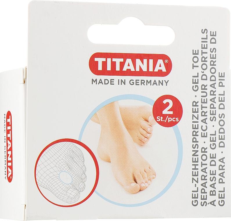 Гелевый вкладыш-разделитель для большого пальца стопы - Titania