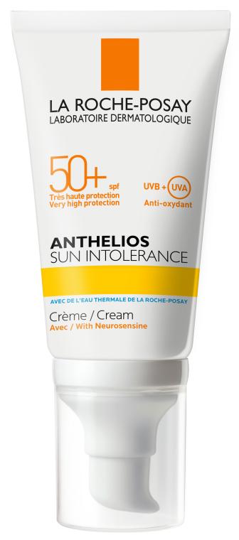Солнцезащитный крем для кожи лица, склонной к солнечной непереносимости SPF 50+ - La Roche-Posay Anthelios Sun Intolerance SPF50+