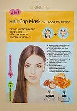 "Духи, Парфюмерия, косметика Маска-шапочка для волос 2в1 ""Интенсивное восстановление"" - Skinlite Hair Cap Mask 2 in 1 Intensive Recovery"