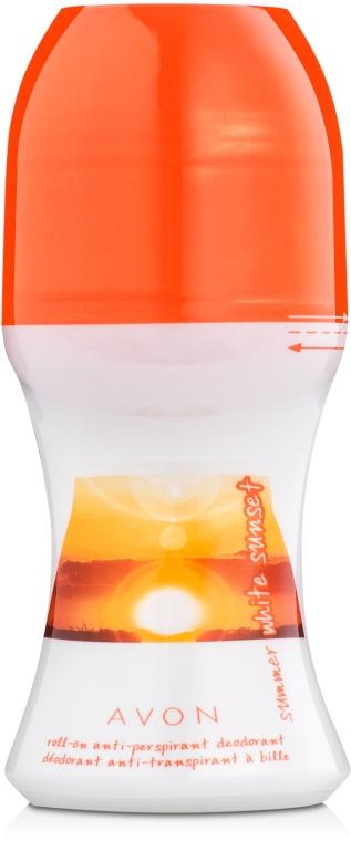 Avon Summer White Sunset - Шариковый дезодорант-антиперспирант