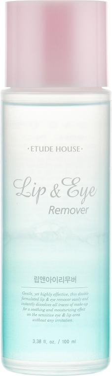 Средство для снятия макияжа - Etude House Lip & Eye Remover