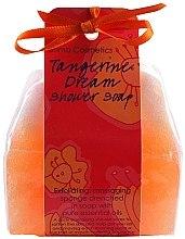 "Духи, Парфюмерия, косметика Мыло-мочалка ""Мандариновая мечта"" - Bomb Cosmetics Tangerine Dream Shower Soap"