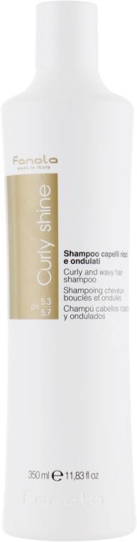 Шампунь для вьющихся волос - Fanola Curly And Wavy Hair Shampoo