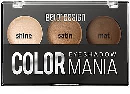 Духи, Парфюмерия, косметика Тени для век - Belor Design Smart Girls Color Mania Eyeshadow