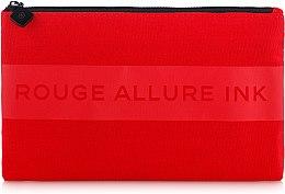Духи, Парфюмерия, косметика Косметичка красная на молнии - Chanel Rouge Allure Ink