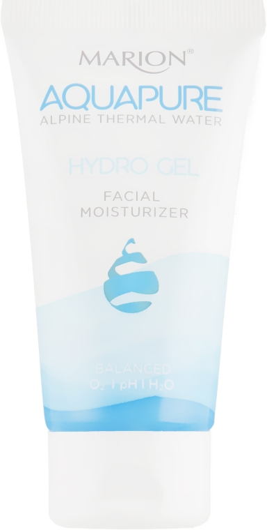 Гидрогелевый увлажняющий крем для лица с термальной водой - Marion Aquapure Hydro Gel Cream