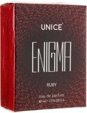 Духи, Парфюмерия, косметика Unice Enigma Ruby - Парфюмированная вода