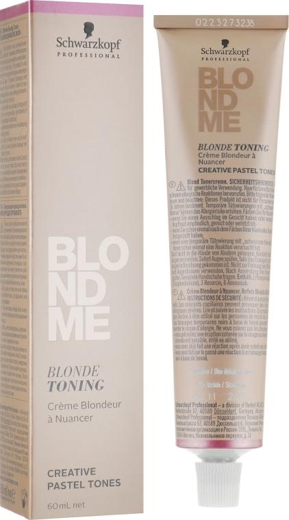 Средство для тонирования волос - Schwarzkopf Professional BlondMe Blonde Toning — фото N1