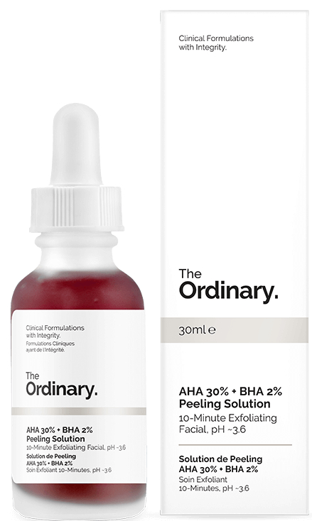 Кислотный пилинг для лица - The Ordinary AHA 30% + BHA 2% Peeling Solution