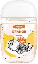 """Парфумерія, косметика Антибактеріальний гель для рук """"Orange"""" - SHAKYLAB Anti-Bacterial Pocket Gel"""