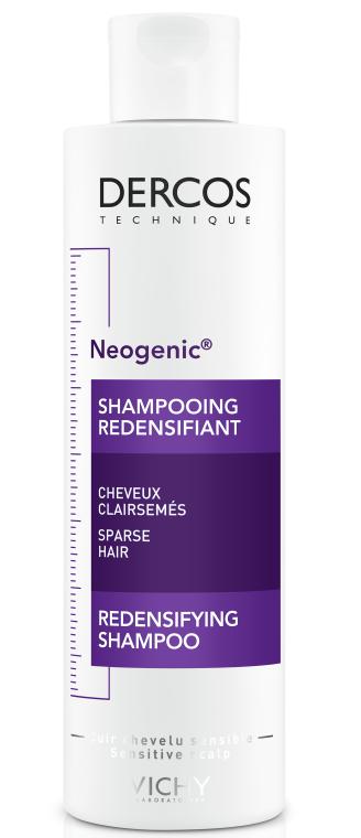 Укрепляющий шампунь для повышения густоты волос со Стемоксидином - Vichy Dercos Neogenic Redensifying Shampoo