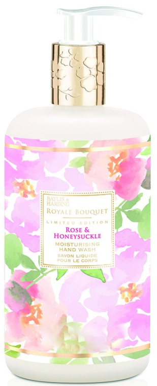 Жидкое мыло для рук - Baylis & Harding Royale Bouquet Rose and Honeysuckle Hand Wash