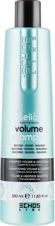 Шампунь для придания объема - Echosline Seliar Volume Shampooo