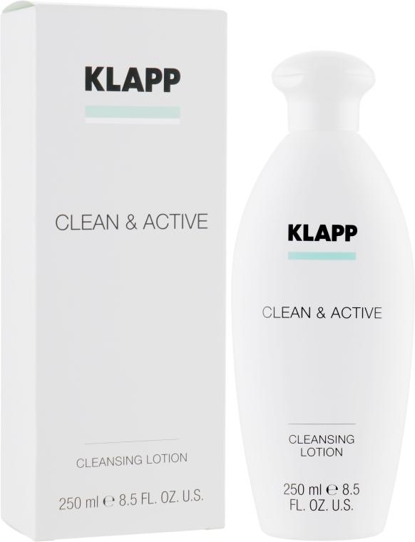 Базовая очищающая эмульсия - Klapp Clean & Active Cleansing Lotion