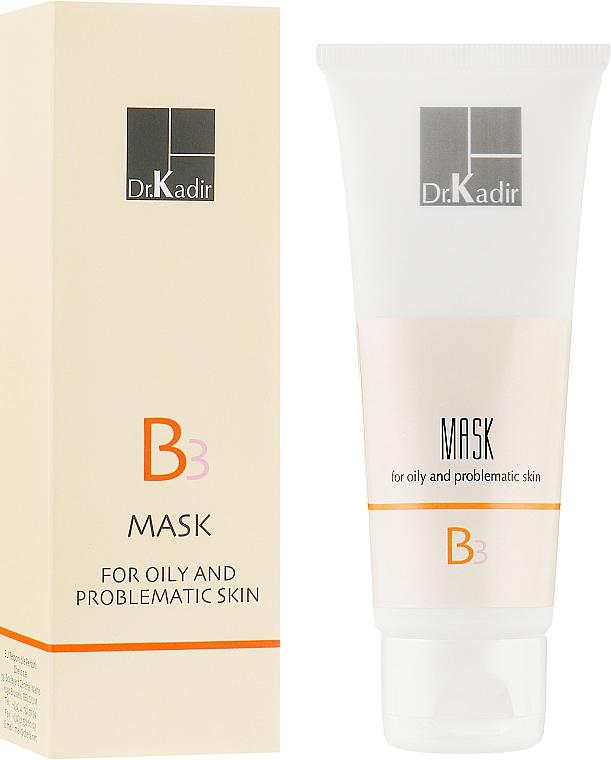 Маска для жирной и проблемной кожи - Dr. Kadir B3 Mask For Oily And Problematic Skin