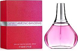 Духи, Парфюмерия, косметика УЦЕНКА Spirit Antonio Banderas for Woman - Туалетная вода *