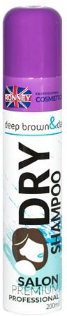 Сухой шампунь для брюнеток - Ronney Dry Shampoo Deep Brown & Dark