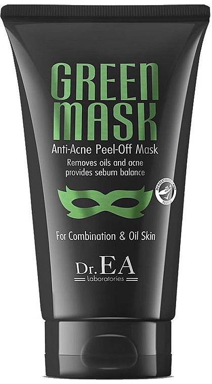 Маска для лица - Dr.EA Green Mask Anti-Acne Peel-Off Mask