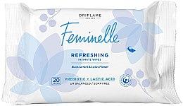 Духи, Парфюмерия, косметика Освежающие салфетки для интимной гигиены - Oriflame Feminelle Refreshing Intimate Wipes