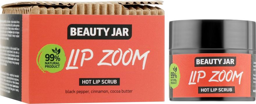 Сахарный скраб для губ - Beauty Jar Lip Zoom Hot Lip Scrub