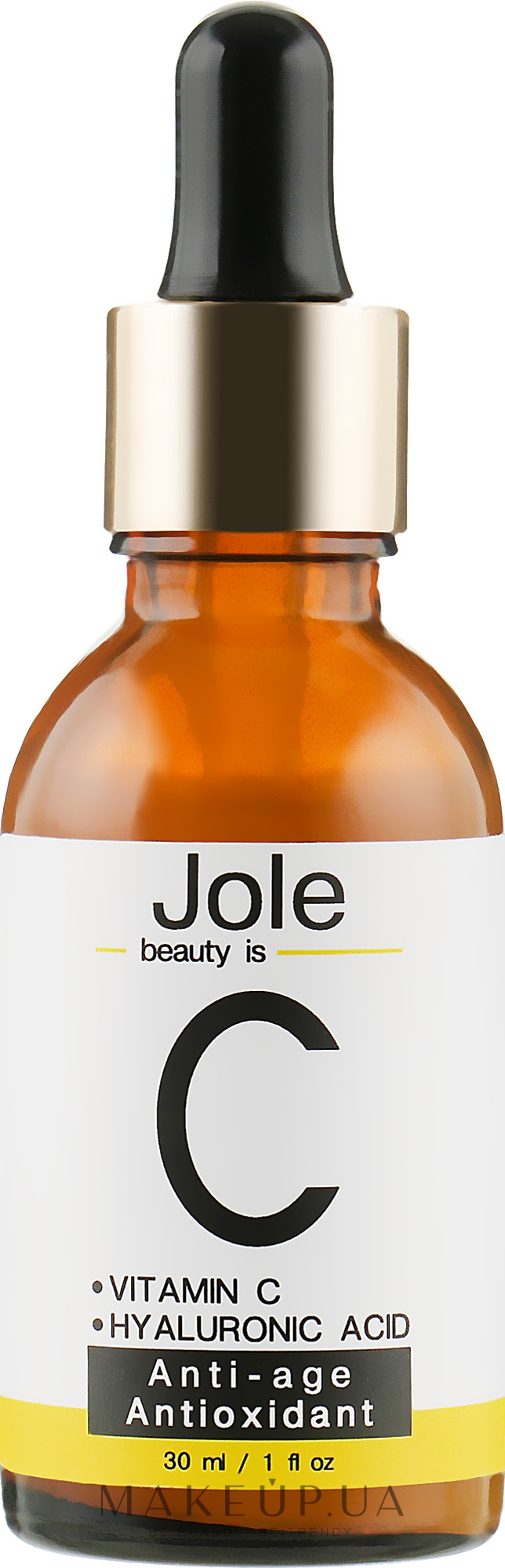 Омолаживающая сыворотка с гиалуроновой кислотой и витамином С - Jole Vitamin C Serum — фото 30ml