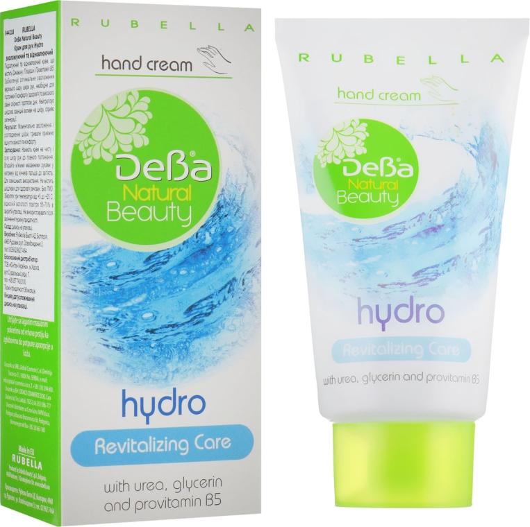 Увлажняющий и восстанавливающий крем для рук «Hydro» - DeBa Natural Beauty