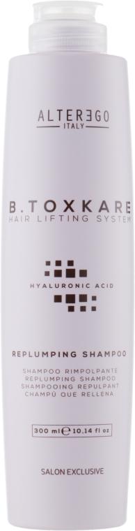 Уплотняющий шампунь с гиалуроновой кислотой - Alter Ego B.Toxkare Replumping Shampoo