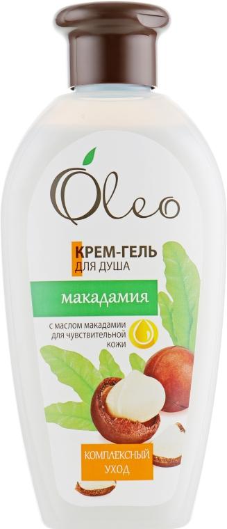 """Крем-гель для душа """"Макадамия"""" - Oleo"""