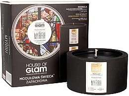 Духи, Парфюмерия, косметика Ароматическая свеча - House of Glam Frankincense Myrrh Candle