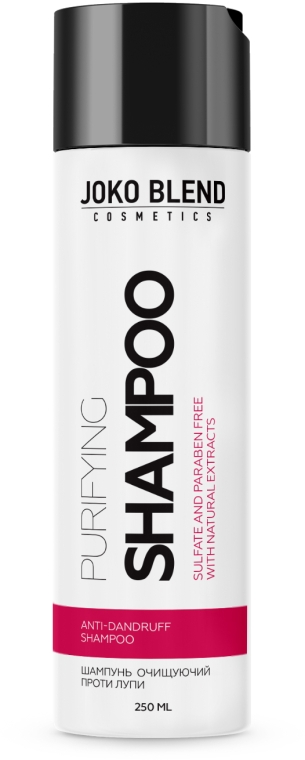 Бессульфатный шампунь против перхоти - Joko Blend Purifying Shampoo