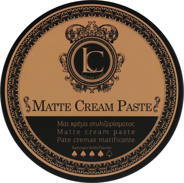Паста матовая сильной фиксации для мужчин - Lavish Care Matte Cream Paste