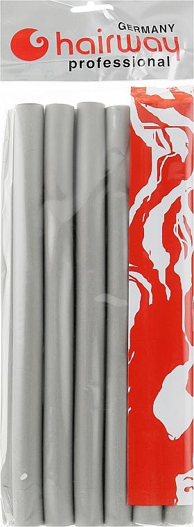 Гибкие бигуди длина 250мм d19, серые - Hairway Flex-Curler Flex Roller 25cm Grey