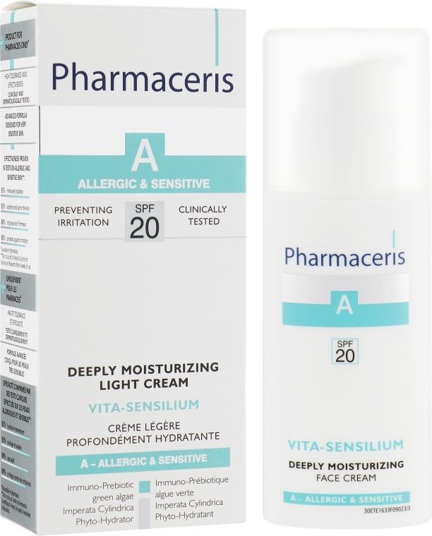 Крем глубоко увлажняющий для лица - Pharmaceris A Vita Sensilium Deeply Moisturizing Cream