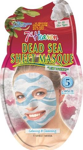 """Тканевая маска для лица """"Минералы мертвого моря"""" - 7th Heaven Dead Sea Sheet Mask"""