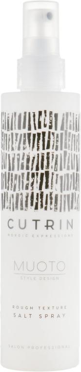 Солевой спрей для волос - Cutrin Muoto Rough Texturizing Salt Spray