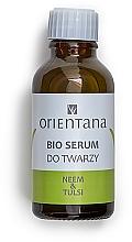 Духи, Парфюмерия, косметика Сыворотка для лица с маслом Нима и Тулси - Orientana Neem & Tulsi Face Bio Serum