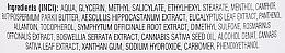 Травяной бальзам для тела с конским каштаном и коноплей - Bione Cosmetics — фото N3