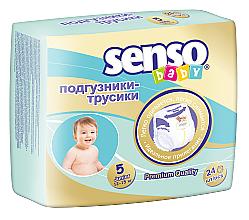Духи, Парфюмерия, косметика Подгузники-трусики Junior 5 (12-15 кг), 24шт - Senso Baby