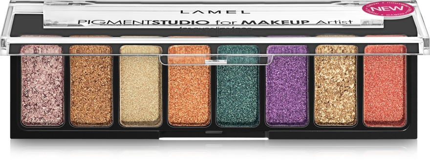 Пигменты для макияжа - Lamel Professional Pigment Studio For Makeup Artist